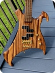 Warwick Buzzard Bass Ltd. Edition 2003 Zebrano