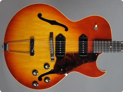 Gibson Es 125 D 1967 Cherry Sunburst