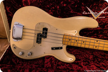 Fender Precision Bass 1958 Custom Shop Limited Edition 2011 White Blonde