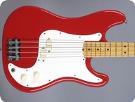 Fender Bullet Bass 1983 Red