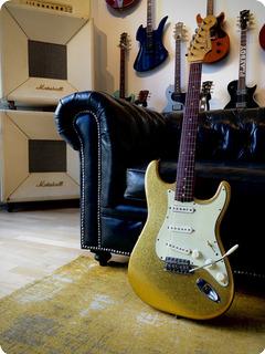 Fender Stratocaster Ex Bob Dylan 1962 Gold Sparkle