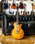 Morgan LP Replica 2010 Lemon Burst
