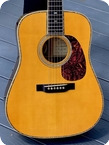 Martin-D-45 Mike Longworth Commemorative Edition -2005-Natural Finish