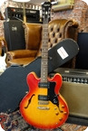 Epiphone Dot Made In Korea Cherry Burst