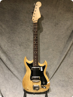Hagstrom H Ii 1969 Natural