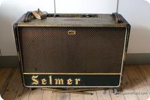 Selmer Truvoice Zodiac Twin 50 1964 Croc Skin