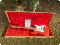 Fender Custom Shop Hank Marvin Stratocaster 1993 Fiesta Red