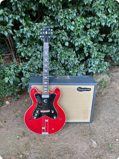 Epiphone Professional Guitar & Amp Set 1963 Cherry Red