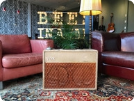 Vox Amps And Effects-1962 JMI VOX AC15 Twin Fawn 2x12 AC-15-1962-Fawn