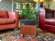 Vox Amps And Effects 1962 JMI VOX AC4 Smooth Vinyl Tolex Metal Vents 1962 Black Smooth Tolex