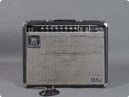 Music Man  Rd 112 Sixtyfive   65 Watt 1980 Black Tolex