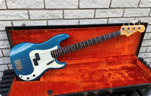 Fender Precision Bass 1966 Lake Placid Blue