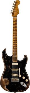 Fender Custom Shop Stratocaster Poblano Super Heavy Relic Aged Black