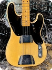 Fender Precision Bass 1952 Butterscotch Blonde