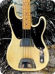 Fender Precision Bass 1955 See Thru Blonde