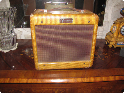 Fender Champ Amp Tweed (narrow Panel) 1955 Tweed