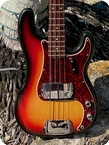 Fender Precision Bass 1972 Sunburst Finish