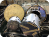 Tama -  4 Piece Drum Kit Owned By Ricke Wakeman Of YES Purchased From Bill Bruford 1970 Silver