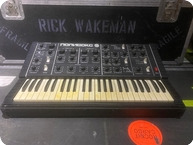 Polivoks MiniMoog Style Synth Owned And Used By Rick Wakeman Of YES 1980 Black