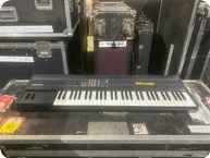 Ensoniq Mirage Synth Owned And Used By Rick Wakeman Of YES 1990 Black