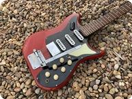 Burns Guitars Vibra Artist 1962 Cherry Blackburst