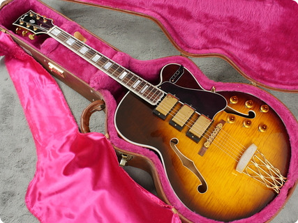 Gibson Custom Shop Historic Es 5 Switchmaster 1995 Vintage Sunburst