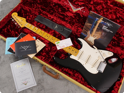 Fender Custom Shop 1956 Journeyman Stratocaster 2017 Black