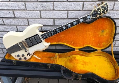 Gibson Sg Custom 1966 White Finish