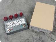 Hudson Electronics Dual Broadcast Class A Germanium Preamp Pedal 2020 Grey