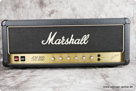 Marshall Jcm 800 Lead Series Mk2 1981 Black