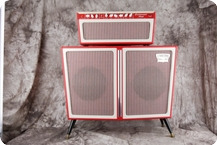 Tone King Continental Amp 1990 Red White