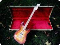 Fender Custom Shop Carved Top Stratocaster 1995 Cherry Sunburst
