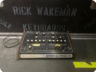 Sequential Circuits Model 700 Programmer Drum Machine Owned And Used By Rick Wakeman Of YES 1979 Black