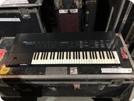 Korg DSS1 Synth Owned And Used By Rick Wakeman Of YES 1990 Black