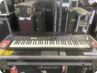 Korg EPS 1 Synth Owned And Used By Rick Wakeman Of YES 1989 Black