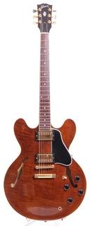Gibson Es 335 Dot Reissue Yamano Gold Hardware 2003 Translucent Brown