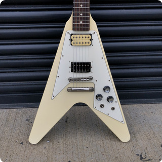 Orville By Gibson Flying V 1997 White