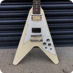 Orville By Gibson-Flying V-1997-White