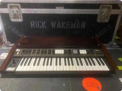 Korg Lambada Synth Owned And Used By Rick Wakeman Of Yes  1979 Black