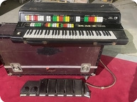 RMI Computer Keyboard Owned And Used By Rick Wakeman Of YES 1970 Black