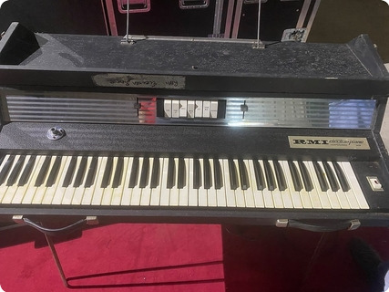 Rmi Electra Piano Owned And Used By Rick Wakeman Of Yes  1970 Black