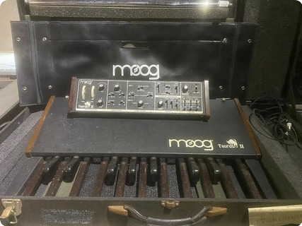 Moog Taurus Ii Bass Pedals Owned And Used By Rick Wakeman Of Yes 1980 Black