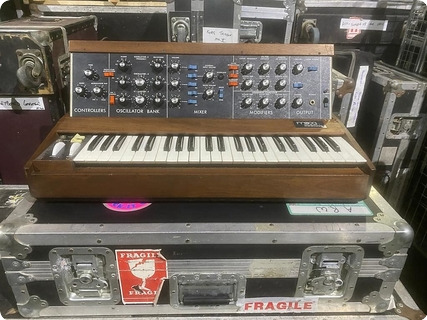 Moog Minimoog Model D Owned & Used By Rick Wakeman Of Yes  1970 Natural