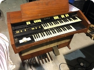 Hammond L122 Organ Owned Used By Rick Wakeman Of YES 1950 Natural
