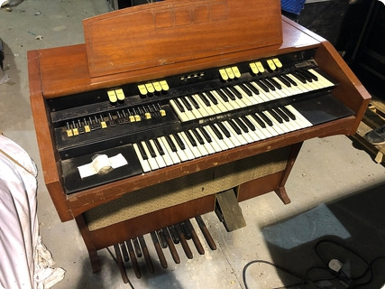 Hammond L122 Organ Owned & Used By Rick Wakeman Of Yes  1950 Natural