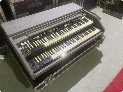 Hammond C3 Organ Owned & Used By Rick Wakeman Of Yes  1960 Grey