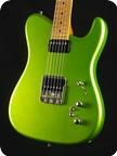 Tausch Guitars 665 RAW Candy Lime Green