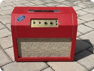 Marshall Capri 2x8 Tube Combo 1970 Red Tolex