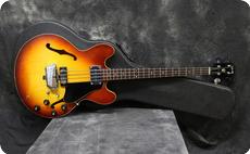 Gibson EB2D 1969 Tea Burst
