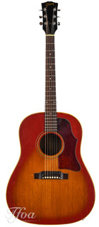 Gibson J45 Cherry Sunburst 1967